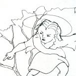 The Olive Branch, detail, Copyright 2013 Roger Vincent Jasaitis, RVJart.com