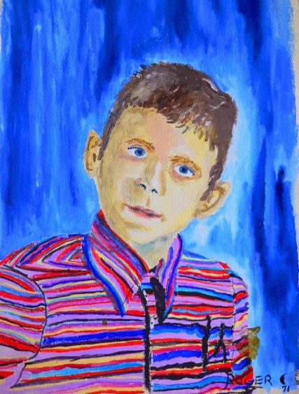 Raymond Ernest Jasaitis at age 8