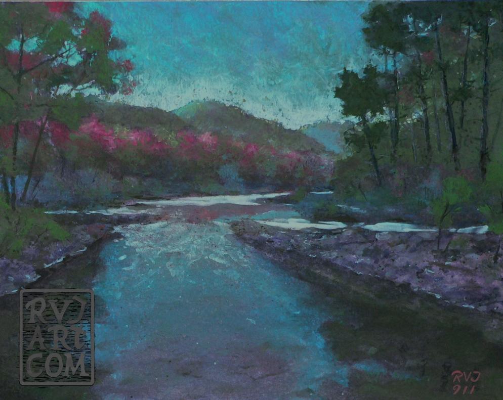 Psalm 159, oil painting by Roger Vincent Jasaitis, RVJart.com