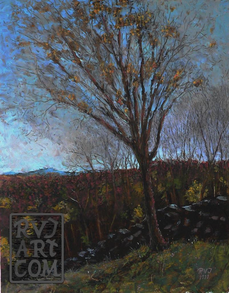 psalm 166, oil painting by Roger Vincent Jasaitis, RVJart.com