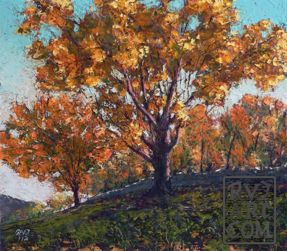 psalm 172, oil painting by Roger Vincent Jasaitis, RVJart.com