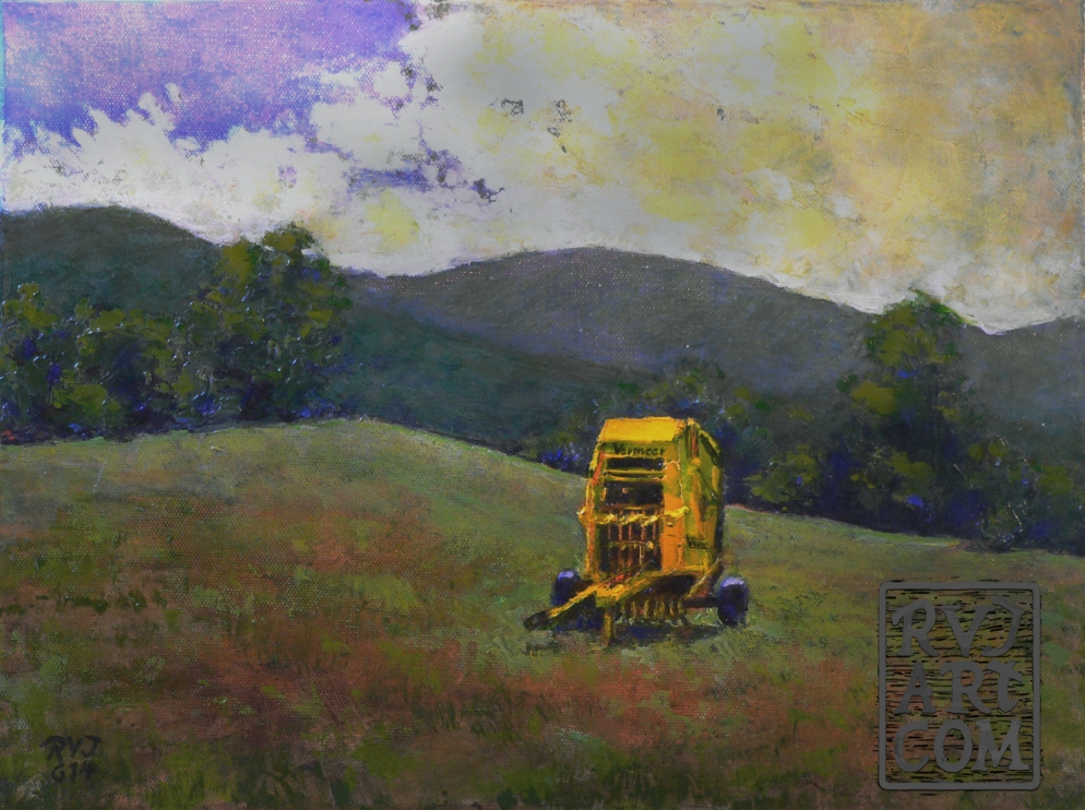 Vermeer , oil painting by Roger Vincent Jasaitis, RVJart.com