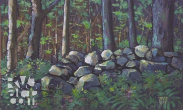 psalm 156, oil painting by Roger Vincent Jasaitis, copyright 2011, RVJart.com