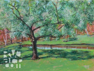 psalm 175, oil painting by Roger Vincent Jasaitis, copyright 2012, RVJart.com