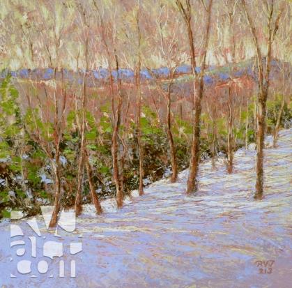 psalm 177, oil painting by Roger Vincent Jasaitis, copyright 2013, RVJart.com