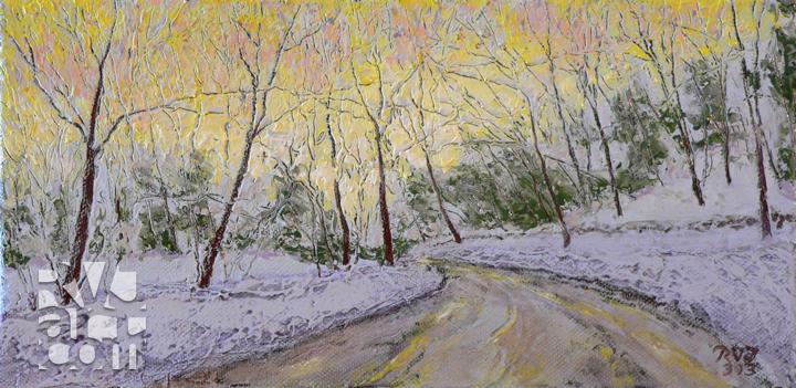 psalm 178, oil painting by Roger Vincent Jasaitis, copyright 2013, RVJart.com