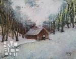 psalm 179, oil painting by Roger Vincent Jasaitis, copyright 2013, RVJart.com