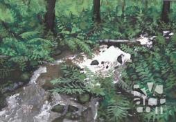 psalm 152, oil painting by Roger Vincent Jasaitis, copyright 2015, RVJart.com