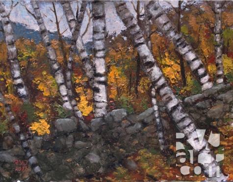psalm 163, oil painting by Roger Vincent Jasaitis, copyright 2011, RVJart.com