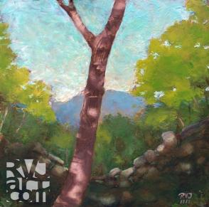 psalm 167, oil painting by Roger Vincent Jasaitis, copyright 2011, RVJart.com