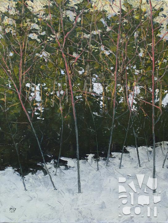 psalm 171, oil painting by Roger Vincent Jasaitis, copyright 2011, RVJart.com