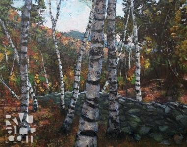psalm 173, oil painting by Roger Vincent Jasaitis, copyright 2012, RVJart.com