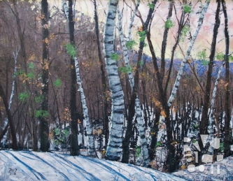 psalm 174, oil painting by Roger Vincent Jasaitis, copyright 2012, RVJart.com