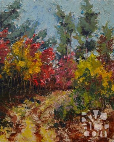 psalm 182, oil painting by Roger Vincent Jasaitis, copyright 2013, RVJart.com