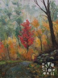 psalm 184, oil painting by Roger Vincent Jasaitis, copyright 2013, RVJart.com