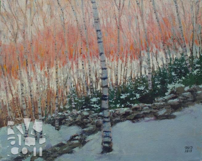 psalm 185,oil painting by Roger Vincent Jasaitis, copyright 2013, RVJart.com