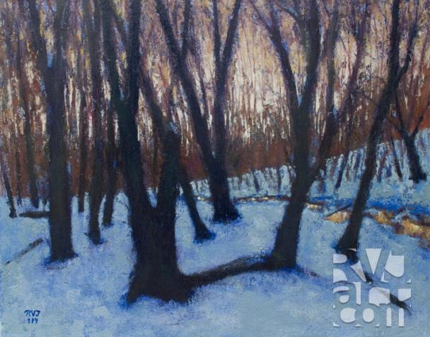 psalm 186, oil painting by Roger Vincent Jasaitis, copyright 2014, RVJart.com