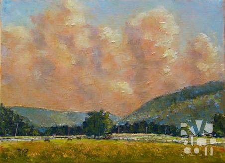 psalm 187, oil painting by Roger Vincent Jasaitis, copyright 2014, RVJart.com