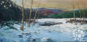 """psalm 189, Open Water"", original oil painting by Roger Vincent Jasaitis, RVJart.com, Copyright 2015"