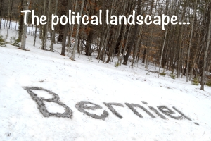 The political landscape in Vermont, photo by Roger Vincent Jasaitis, copyright 2016, RVJart.com
