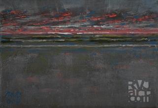 """Daybreak"", Oil painting by Roger Vincent Jasaitis, copyright 2008, RVJart.com"