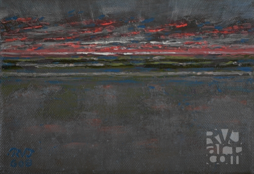"""Daybreak"", Oil painting by Roger Vincent Jasaitis, copyright 2008, RVJart.com"