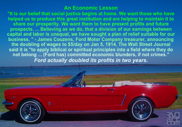 An Economic Lesson, meme by Roger Vincent Jasaitis, RVJart.com